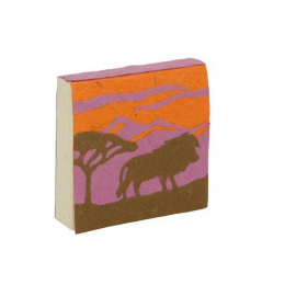 Bloc notes - Savane Lion - Poopoopaper