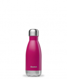 Bouteille Isotherme - 260ml - Magenta - Qwetch