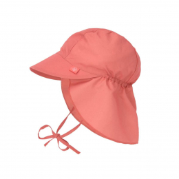 Chapeau casquette de soleil protège nuque Corail Lassig
