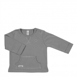 T-shirt manches longues Luc - Steel grey - Koeka