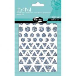 Stickers - Initial - Géométriques - Maildor