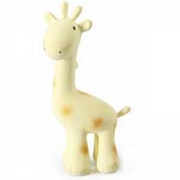 Girafe Mon Premier Animal du zoo en caoutchouc naturel Tikiri