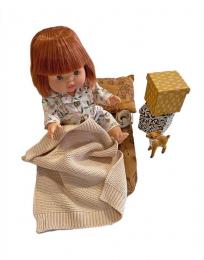 Set Week-end nomade en coton Les Basiles Minikane Paola Reina