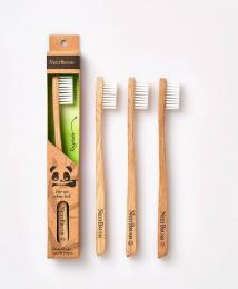 Brosse à dents en bambou enfant NextBrush