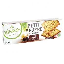 Biscuits Petit beurre pépites de chocolat 150 g Bisson