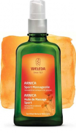 Huile de massage sport Arnica 100ml - WELEDA