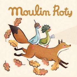 Boîte de 3 disques pour lampe à histoires Le voyage d'Olga Moulin Roty