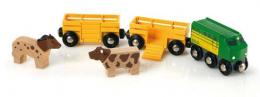 Train des animaux de la ferme - Brio