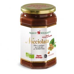 Pâte à tartiner cacao et noisettes BIO - 700g - Nocciolata