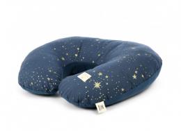 Coussin d'allaitement maternité Sunrise - Gold stella Night blue - Nobodinoz