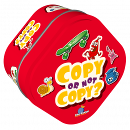 Copy or not Copy ? - Blue Orange