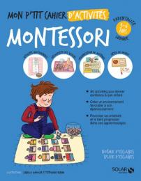 Mon P'tit cahier d'activités Montessori Solar
