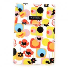 Pochette à langes, couches ou lingettes - Flower poppy