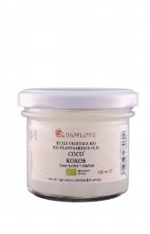 Huile végétale de coco vierge bio 100ml Bioflore