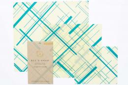 3 emballages Zéro déchet - S-M-L Geo - Bee's Wrap