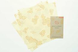 3 emballages Zéro déchet - Large - Bee's Wrap