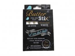 Boîte de 12 craies blanches zéro poussière - Jaq Jaq bird