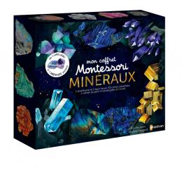 Mon coffret Montessori des minéraux Nathan