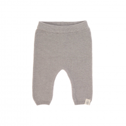 Pantalon tricoté coton bio et soie Garden Explorer Gris Lassig