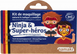 Maquillage Kit 3 couleurs Ninja et super héros - Namaki