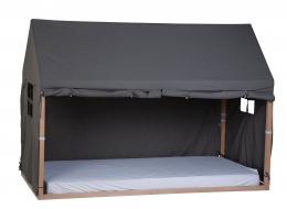 Toile pour lit cabane 90X200 cm Anthracite Childhome