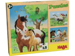 Puzzles chevaux - Haba