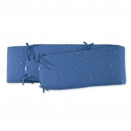 Tour de parc COMPLET 75x95 Jersey étoile bleu foncé BEMINI