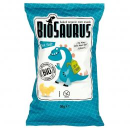 BIOSAURUS - chips de mais au sel marin BIO - 50g - vegan sans gluten