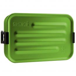 Boîte repas alu S vert avec insert silicone - Sigg