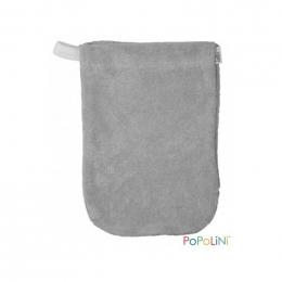 Gant de toilette gris - petit modèle - Popolini