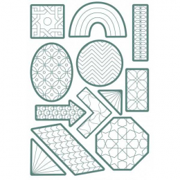 Stickers - Color - Géométriques - Maildor