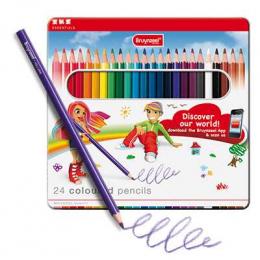 24 crayons de couleur - Bruynzeel