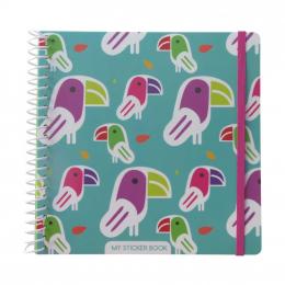 Sticker book - Toucan - Majolo