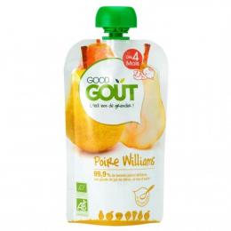 Compote BIO - Purée de fruits -  Poire Williams - GoodGout