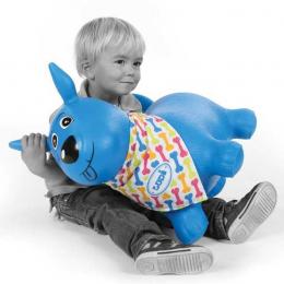 Ballon Sauteur chien bleu - Ludi