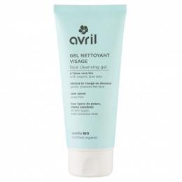 Gel nettoyant visage - certifié bio - Avril cosmétique