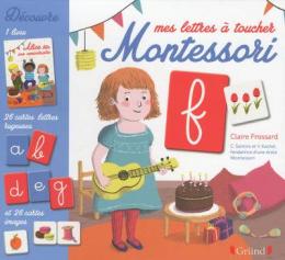Coffret Montessori Mes lettres Gründ