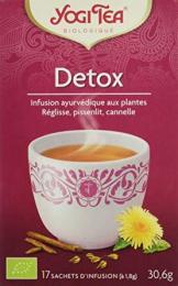 Infusion ayurvédique aux plantes Detox Yogi Tea