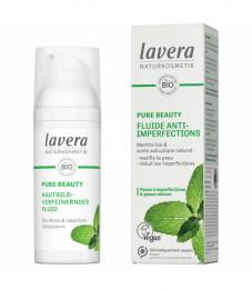 Fluide anti-imperfections BIO menthe & acide salicylique - 50ml - Lavera