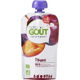 Compote BIO - Purée de fruits - Prune - GoodGout