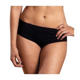 Slip - culotte confort Noir en coton BIO - Carriwell