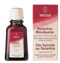 Eau buccale au Ratanhia - weleda
