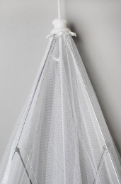 Moustiquaire pour lit bébé 60X120cm Kadolis
