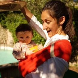 Porte bébé d'appoint - Hop'la - Rouge - Néobulle