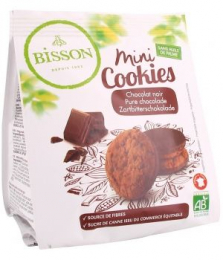 Biscuits Mini cookies Tout choco120g Bisson