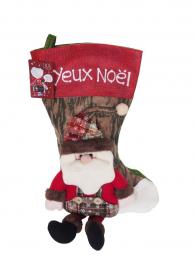 Chaussette Noël et sachet confiserie 300g bio