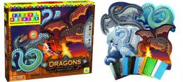 Mosaïques par numéros - Dragons - orb factory
