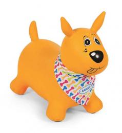 Ballon Sauteur chien Jaune - Ludi