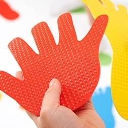 Empreintes de mains tactiles - Tickit
