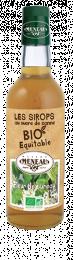 Sirop de fleur de sureau au sucre de canne bio équitable 50cl Meneau